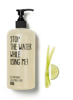 Stop the water while using me All Natural Cucum...