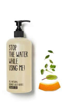 Stop the water while using me All Natural Orang...