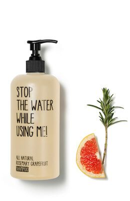 Stop the water while using me All Natural Rosem...