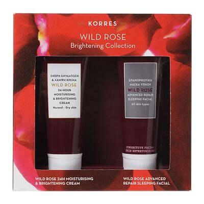 KORRES WILD ROSE Brightening Collection