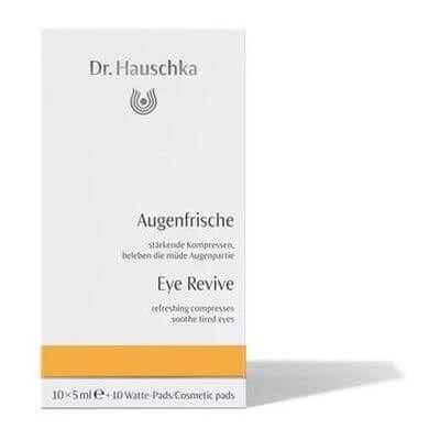 Hauschka Augenfrische Ampullen + 10 Watte-Pads, 10X